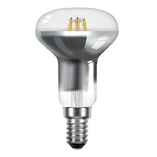 LED Filament Leuchtmittel Reflektor R50 4W = 40W E14 360lm klar extra warmweiß 2200K maxi flood 120° Retrofit (R50) - 40w Flood
