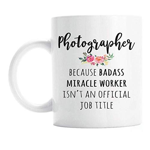 UUGOD Gift For Photographer, Funny Photographer Coffee Mug
