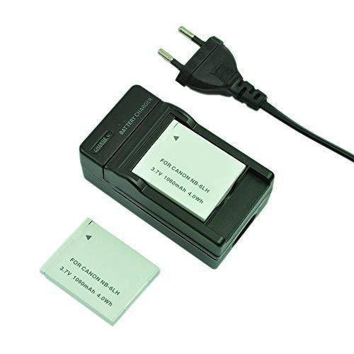 Mondpalast@ 2X Reemplazo 1060mah Batería + cargador