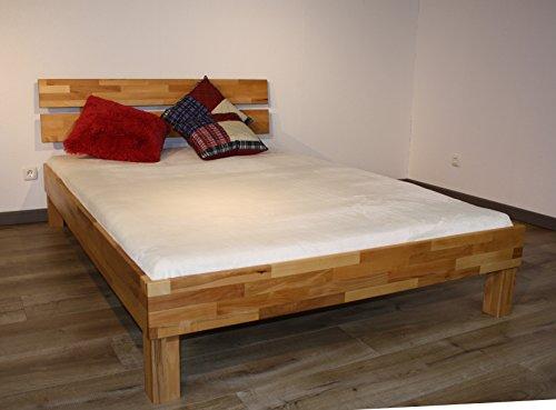 Bett PALMA, Größe 100x200, Buche Massivholz, von MeinMassivholz - Made in Germany, Kostenlose Lieferung zum Wunschtermin - 4