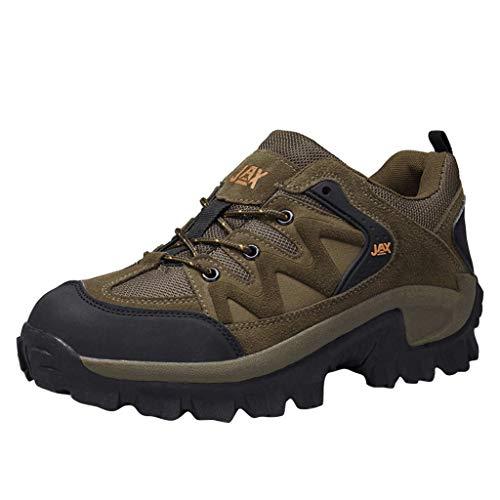 TWISFER Wanderschuhe Trekking Schuhe Herren Sports Outdoor Gleitsicher Hiking Boots Men Waterproof Trekking-& Wanderhalbschuhe Dämpfung Sneaker -