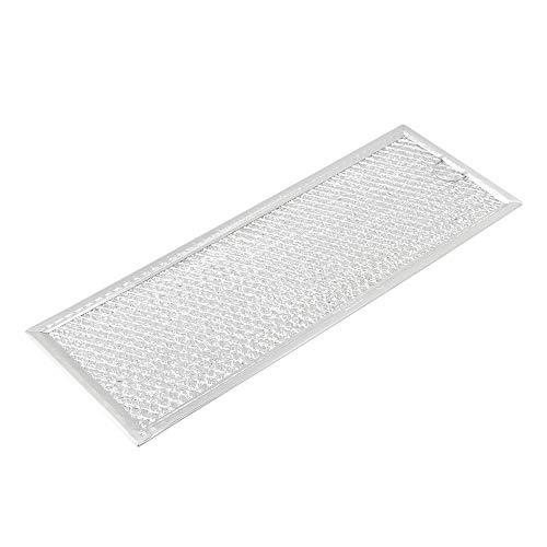 32,5x12x0,2cm Aktivkohlefilter Mikrowellenofen von Bauknecht Whirlpool Aluminium Mikrowellenfilter Fettfilter WB06X10288 ersetzen viele Mikrowellenofen silber