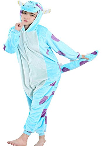 lanell Unisex Einteiler/Pyjama für Erwachsene Pyjama - S (Hallowee N)