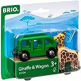 BRIO Bahn 33724 - Giraffenwagen