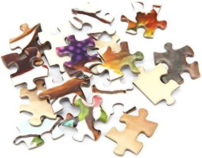 Togames-FR 1000 pcs / Set Le Cerf de la Forêt Puzzle DIY Assemblé Paysage Papier Puzzle Puzzle Jouets Éducatifs pour  s Cadeau D'adulte | Réputation D'abord