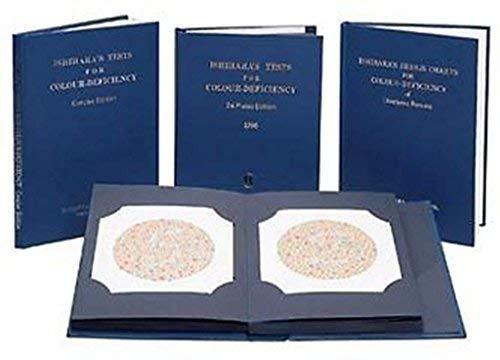 Color-test (24 Plates Ishihara Color Blindness Test Book)