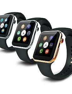 BY 533mah mtk2502c Bluetooth 4.0 montre intelligente (en verre saphir, podomètre, la fréquence cardiaque, étanche, anti-perdue) , silver