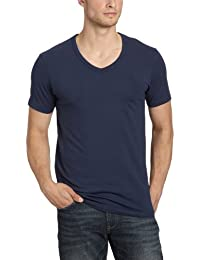 Jack and Jones - T-Shirt - Coupe Cintrée - Uni - Coton - Homme