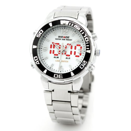 alienwork-dualtime-led-analogue-digital-watch-multi-function-wristwatch-stainless-steel-white-silver