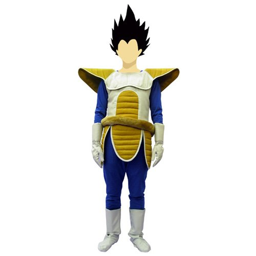 COSPLAY OFICIAL DE VEGETA ADULTO DRAGON BALL Z