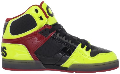 Osiris, Scarpe Sport Lifestyle Uomo Multicolore (BLACK/YELLOW/RED)