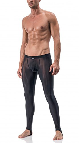 Manstore Straped Leggings M101 - schwarz