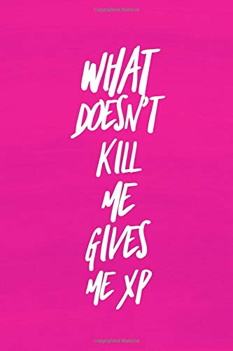 What Doesn't Kill Me Gives Me XP: Video Game Journal for Gamers
