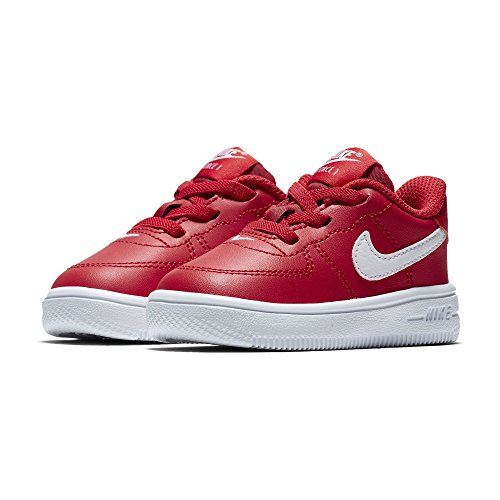 "Nike Air Force 1 '18 Toddler TD ""University Red"" Retro, Zapatillas Deportivas de Niño"