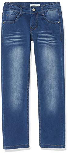 NAME IT Jungen Jeans NKMRYAN DNMTAZ 2158 Pant NOOS, Blau (Medium Blue Denim), (Herstellergröße:134)