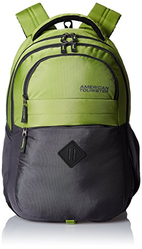 American Tourister Encarta Lime Casual Backpack (Encarta 06_8901836132984)