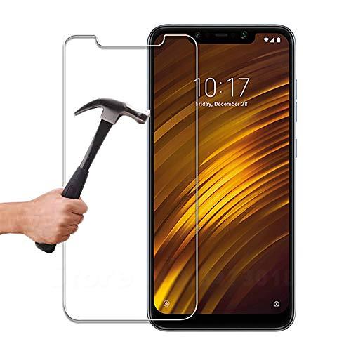 Lapinette Pellicola Vetro Temprato Protezione Antiurto per Xiaomi Pocofone F1