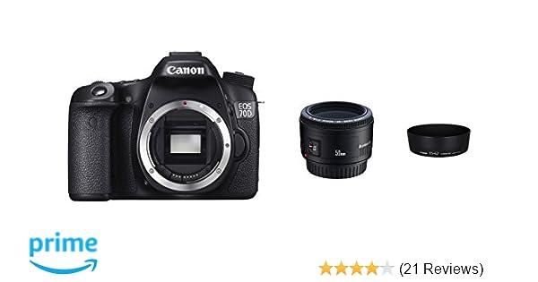 Canon EOS 70D digital SLR camera 3 inch 1: 3.5-5.6 IS: Amazon.co.uk ...