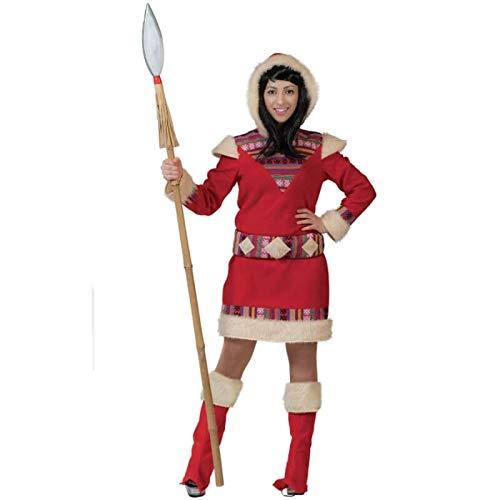 (Pierro´s Kostüm Eskimo Dame Nana Damenkostüm Größe 44-46)