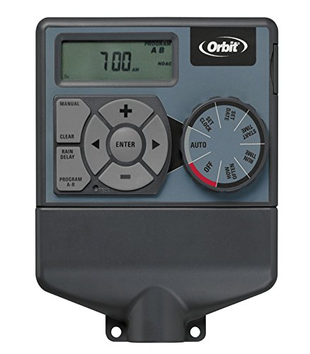 Orbit-Orbit 94874 Irrigation Irrigation POCKET4 Programmateur électrique Gris