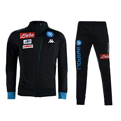Kappa Presentation Tracksuit Napoli Junior Blue 18/19