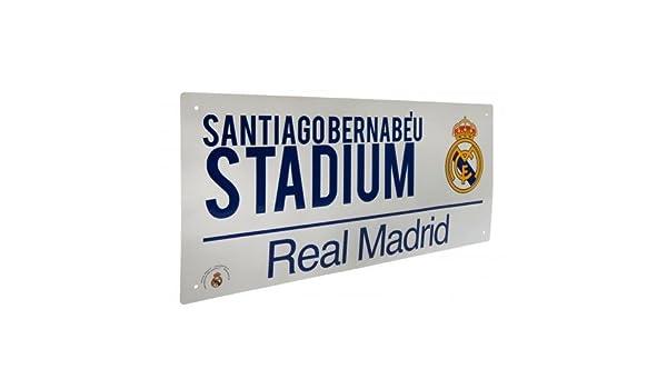 Real Madrid F.C Plaque de rue officiel
