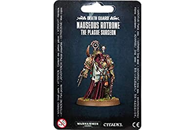Games Workshop Jeux Atelier 99070102004 Death Guard Nauseous Rotbone Miniature