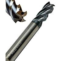 Schruppfr/äser f/ür Aluminium//Schaftfr/äser 3-flammig Vollkarbid