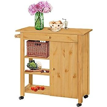 Küchenwagen Küchenschrank Servierwagen Beistellwagen Küchenrollwagen ...