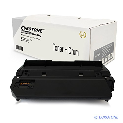 XXL Eurotone Premium Cartridge + Trommel für Lexmark E260D / E360DN / E460DN ersetzt E260A11E 6.000 Seiten Version und E260X22G Cartridge + Drum Original Eurotone (ISO-Norm 19798) -