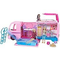 Barbie Supercaravana de Barbie, autocaravana muñeca barbie (Mattel FBR34)