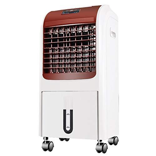 HAIPENG Mobile Tragbare Klimaanlage Klimagerät Luftkühler 4 In 1 Lüfter Kühlung Heizung Ventilator Stumm Timer Fernbedienung, 75W, 400m³/h