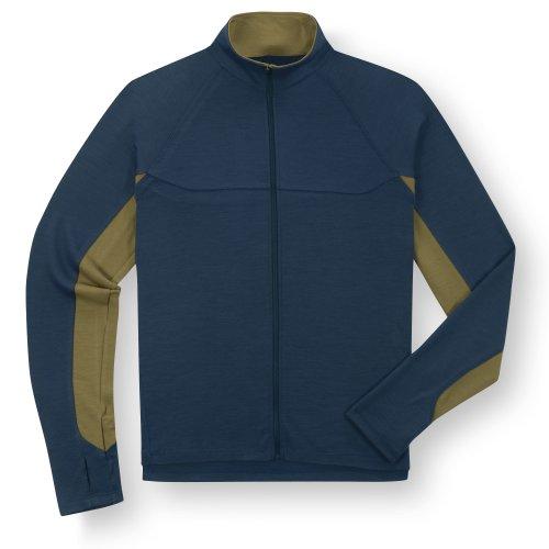 Ibex Herren Shak Lite Full Zip Jacket Dark Ink