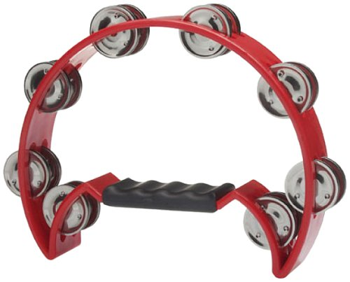 STAGG TAB2RD CUTAWAY PANDERETA 16 DE JINGLE – ROJO