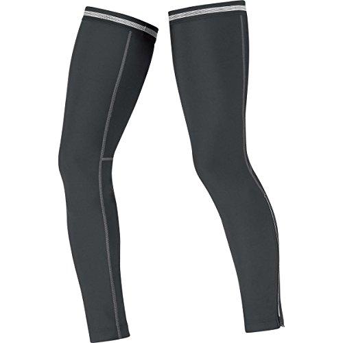 Gore Bike Wear Universal Thermo - Perneras unisex, color negro, talla L