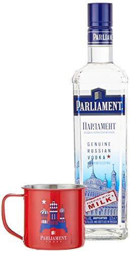 Parliament inklusiv exklusivem Mule-Becher Vodka (1 x 0.7 l) -