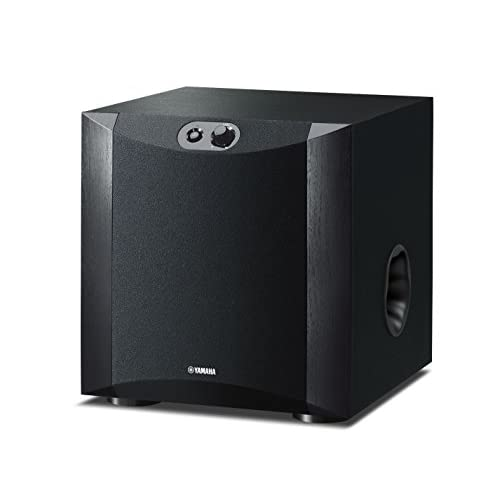 Yamaha NSSW200 Powered Subwoofer – Black