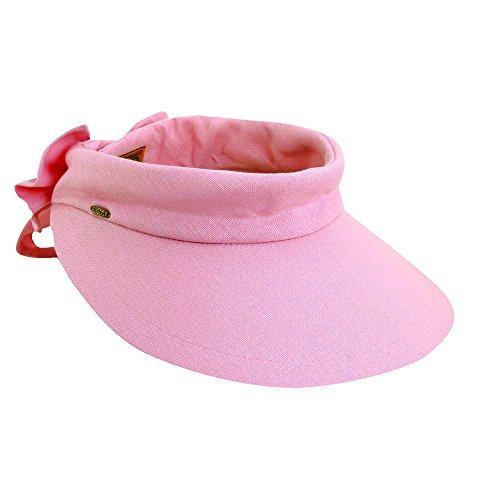 Scala femme bonnet chapeau anti-uV uPF 50 + Rose
