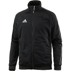 Chaqueta adidas vintage CORE18 PES JKT Jacket, Hombre, Negro/Blanco, L