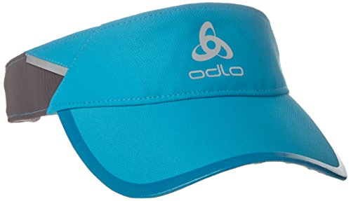 Odlo Visor Cap Fast & Light Kappe, Blue Jewel, S/M (Blue Light Visor)