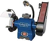 Scheppach BGS700-240V - 240v smerigliatrice/finitura con luce alogena