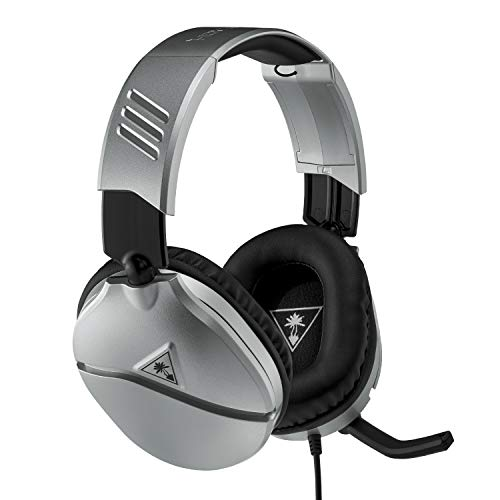 Turtle Beach Recon 70 Argento Cuffie Gaming - Nintendo Switch, PS4, Xbox One e PC - PlayStation 4