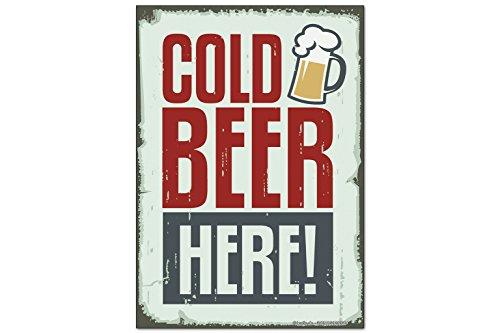 Magneti Calamite frigorifero Birra razione Nostalgica Birra fredda