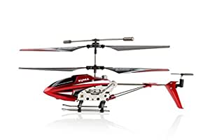 Tofern ® Syma 2015 Edition S107E/S107W New Version 3.5 Channel RC Indoor Helicopter with Gyro ~ Red