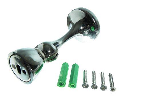 24 Halter bleiben Sets X Tür Magnetic Türstopper Keil Riegel chrom mit Schrauben (Riegel Keil)