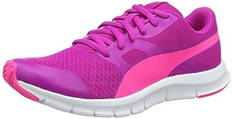Puma Unisex-Kinder Flexracer Jr Low-Top, Pink (Ultra Magenta-Knockout Pink 11), 36 EU