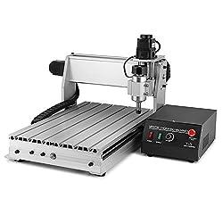 BuoQua Fräsmaschine CNC Graviermaschine Mit USB 3040T-DQ 3-Achsen 4MM Engraver Machine Gravur Maschine für Metall Glas Holz Stein