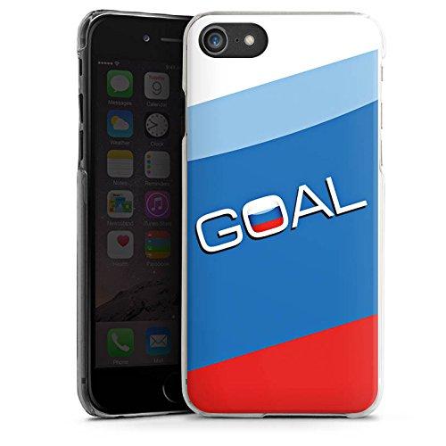 Apple iPhone X Silikon Hülle Case Schutzhülle Russland Tor Fußball Hard Case transparent