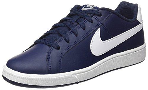 Nike Court Royale, Zapatillas Hombre, Azul (Obsidian/white/metallic Silver), 42 EU