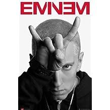 Póster Eminem (cuernos)